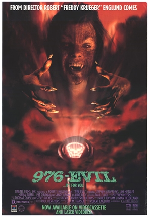 976-EVIL - Video release movie poster (thumbnail)