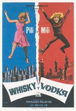 Whisky y vodka