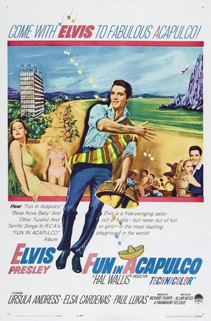 Fun in Acapulco - Movie Poster (thumbnail)