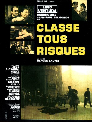 Classe tous risques - French Movie Poster (thumbnail)