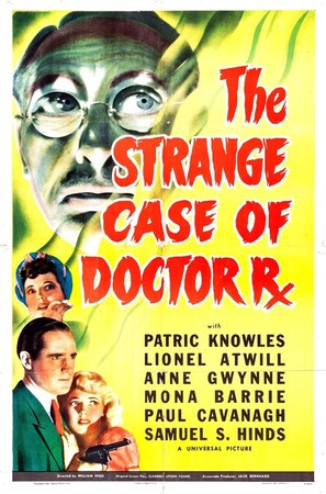 The Strange Case of Doctor Rx - Movie Poster (thumbnail)