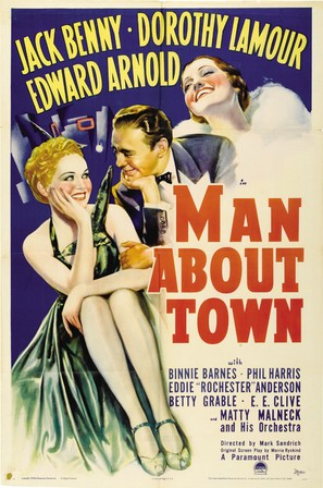 Man About Town - Movie Poster (thumbnail)