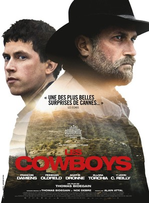 Les cowboys - French Movie Poster (thumbnail)