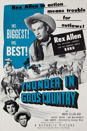 Thunder in God's Country - poster (thumbnail)