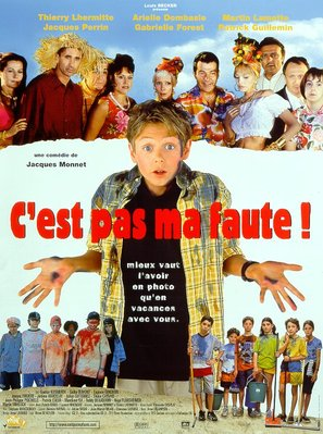 C'est pas ma faute! - French Movie Poster (thumbnail)