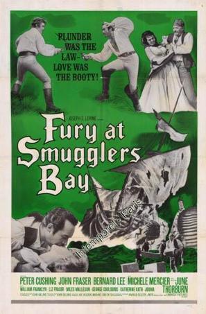 Fury at Smugglers' Bay - British Movie Poster (thumbnail)