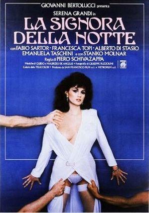 La signora della notte - Italian Movie Poster (thumbnail)
