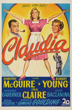 Claudia - Movie Poster (thumbnail)