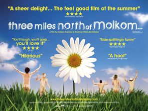 Three Miles North of Molkom - British Movie Poster (thumbnail)