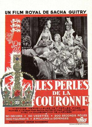 Les perles de la couronne - French Movie Poster (thumbnail)