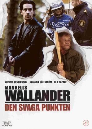 """""""Wallander"""" Den svaga punkten - Swedish poster (thumbnail)"""