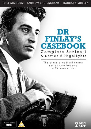 """Dr. Finlay's Casebook"" - British DVD cover (thumbnail)"