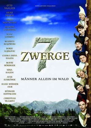 7 Zwerge - German Movie Poster (thumbnail)