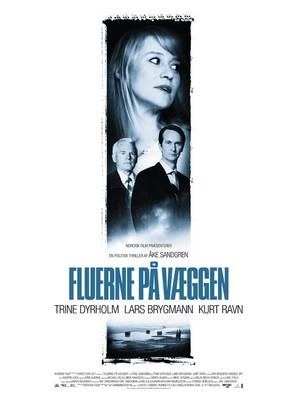 Fluerne på væggen - Danish Movie Poster (thumbnail)