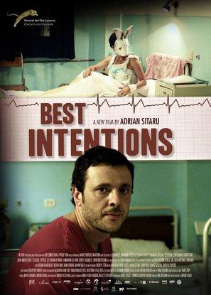 Din dragoste cu cele mai bune intentii - British Movie Poster (thumbnail)