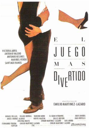 El juego más divertido - Spanish Movie Poster (thumbnail)
