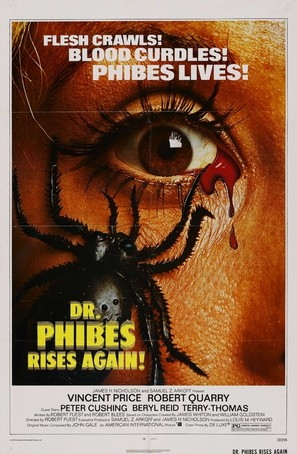 Dr. Phibes Rises Again - Movie Poster (thumbnail)