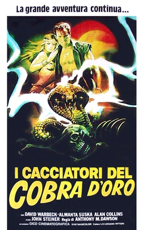Cacciatori del cobra d'oro, I - Italian Movie Poster (thumbnail)