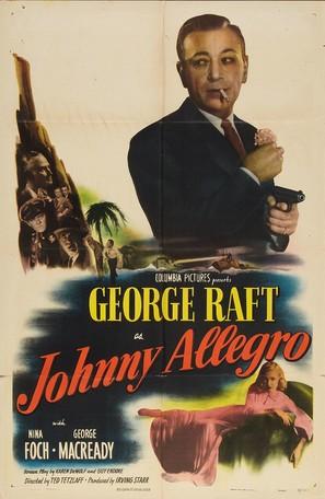 Johnny Allegro - Movie Poster (thumbnail)