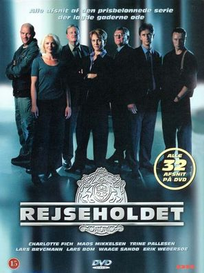 """Rejseholdet"" - Danish DVD movie cover (thumbnail)"