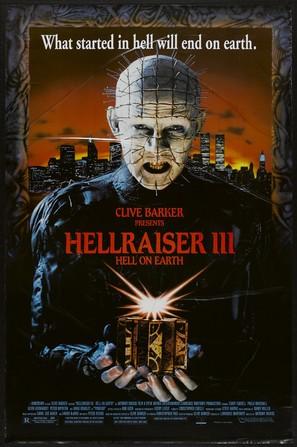 Hellraiser III: Hell on Earth - Movie Poster (thumbnail)