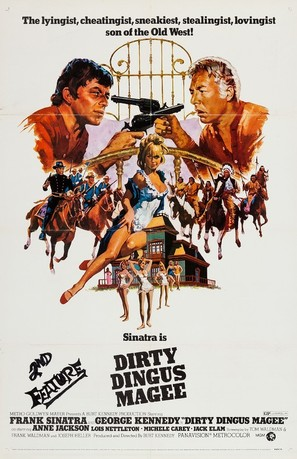 Dirty Dingus Magee - Movie Poster (thumbnail)