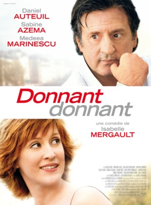 Donnant, Donnant - French Movie Poster (thumbnail)