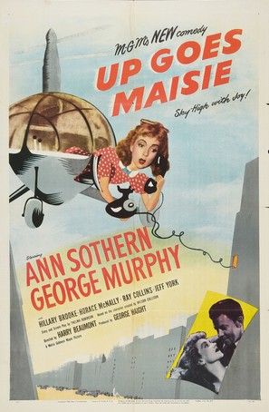 Up Goes Maisie - Movie Poster (thumbnail)