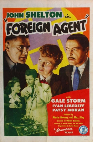 Foreign Agent - Movie Poster (thumbnail)