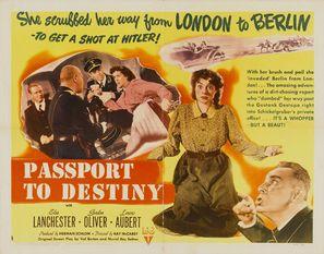Passport to Destiny - Movie Poster (thumbnail)