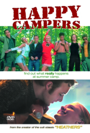 Happy Campers - DVD movie cover (thumbnail)