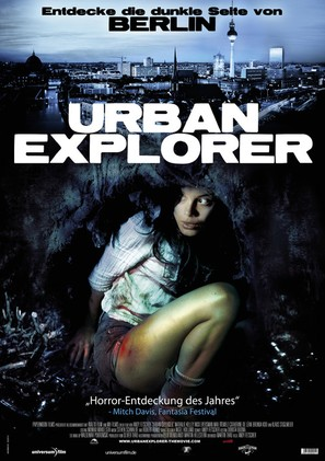 Urban Explorer - German Movie Poster (thumbnail)