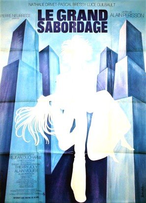 Le grand sabordage - French Movie Poster (thumbnail)