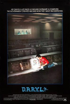 D.A.R.Y.L. - Movie Poster (thumbnail)