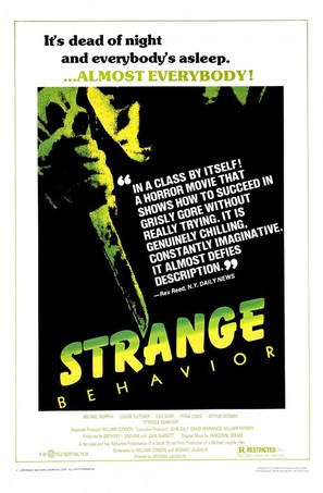 Strange Behavior - Movie Poster (thumbnail)