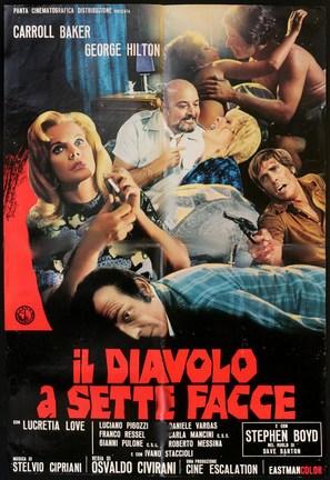 Il diavolo a sette facce - Italian Movie Poster (thumbnail)