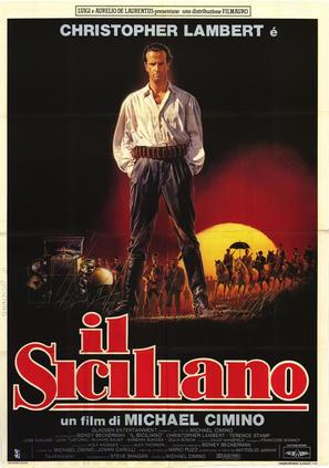 The Sicilian - Italian Movie Poster (thumbnail)