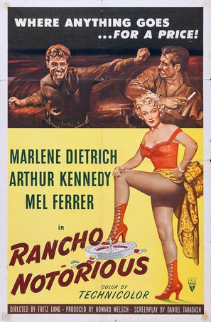Rancho Notorious - Movie Poster (thumbnail)