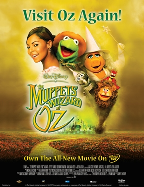The Muppets Wizard Of Oz - Video release movie poster (thumbnail)