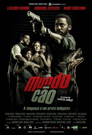 Mundo Cão - Brazilian Movie Poster (thumbnail)