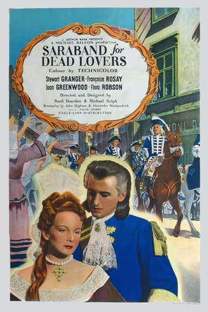 Saraband for Dead Lovers - British Movie Poster (thumbnail)