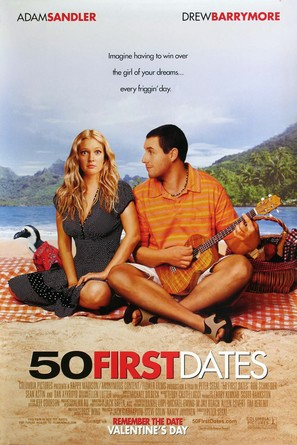 50 First Dates - Movie Poster (thumbnail)