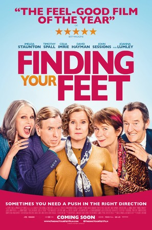 Finding Your Feet - British Movie Poster (thumbnail)