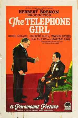 The Telephone Girl - Movie Poster (thumbnail)