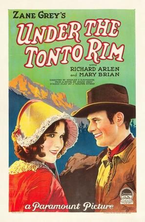 Under the Tonto Rim - Movie Poster (thumbnail)
