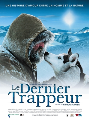 Dernier trappeur, Le - French Movie Poster (thumbnail)