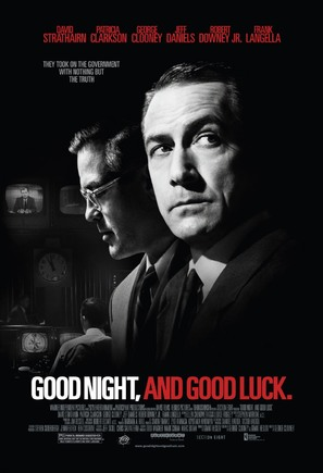 Good Night, and Good Luck. - Movie Poster (thumbnail)