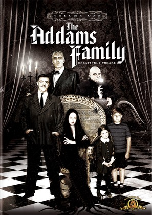"""The Addams Family"" - DVD movie cover (thumbnail)"