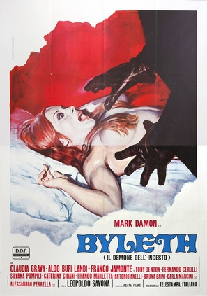 Byleth - il demone dell'incesto - Italian Movie Poster (thumbnail)