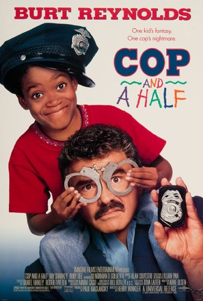 Cop and ½ - Movie Poster (thumbnail)